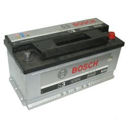 Автомобильный аккумулятор BOSCH S3 013 12V 90Ah 720A обратная полярность (0092S30130)