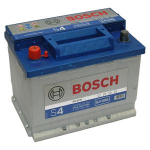 Автомобильный аккумулятор BOSCH S4 006 Silver 12V 60Ah 540A прямая полярность (0092S40060)