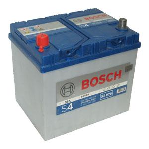Автомобильный аккумулятор BOSCH S4 025 Silver 12V 60Ah 540A прямая полярность (0092S40250)