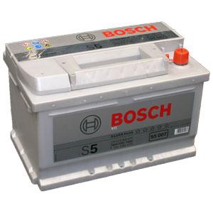Аккумулятор BOSCH S5 77 а/ч, обратной полярности S5 008 SILVER PLUS.