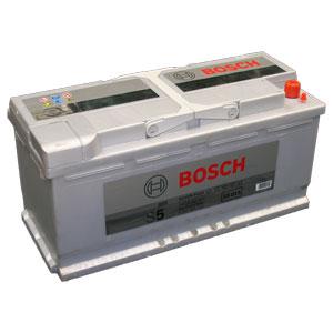 Автомобильный аккумулятор BOSCH S5 015 Silver Plus 12V 110Ah 920A обратная полярность (0092S50150)